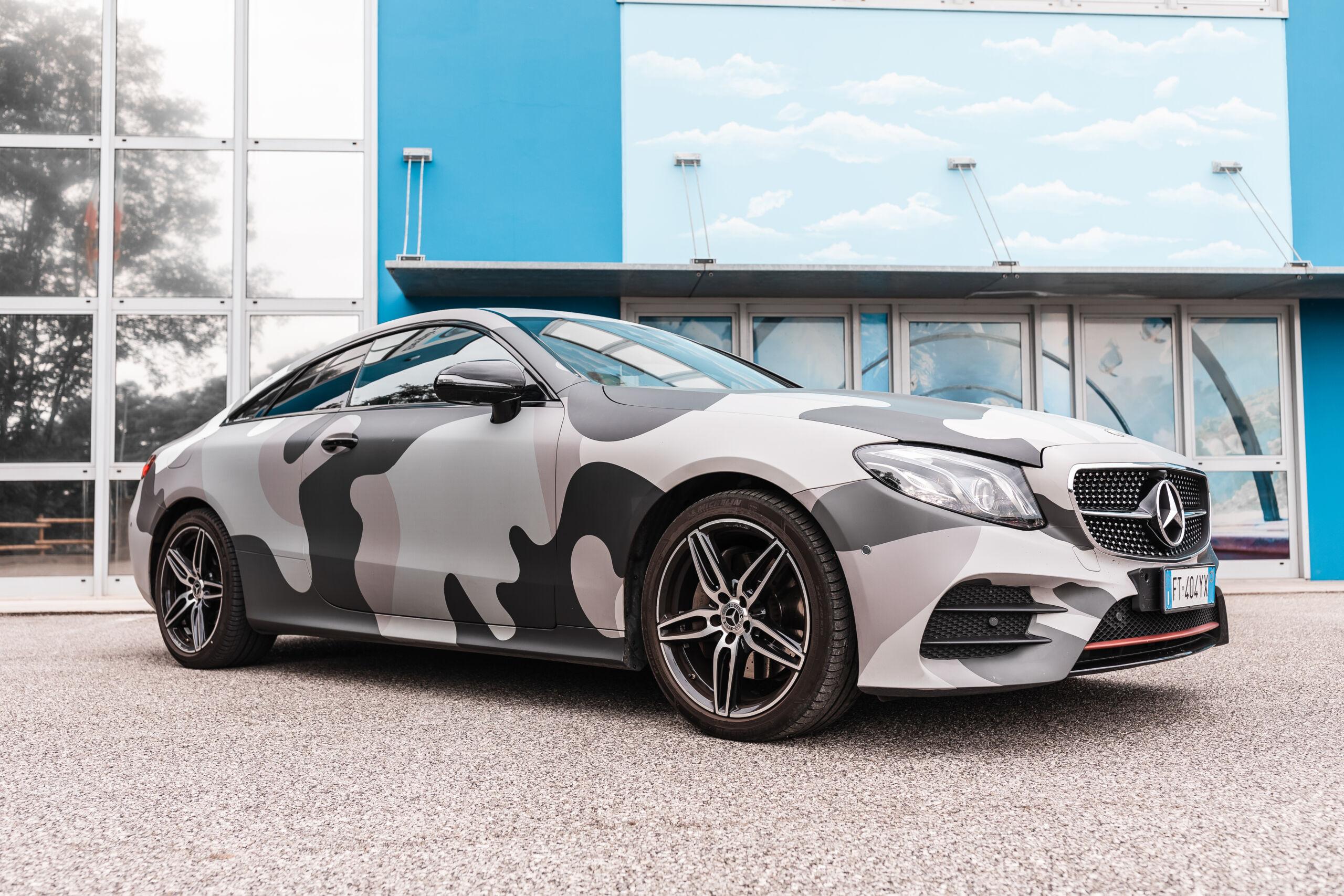 Dema Pubblicità-Wrapping Mercedes Benz 6