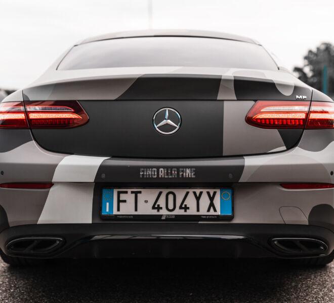 Dema Pubblicità-Wrapping Mercedes Benz 4