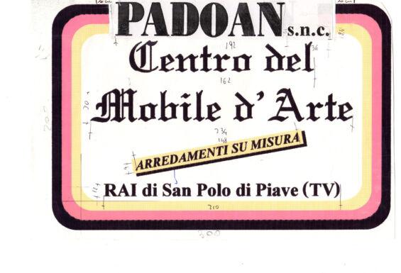 Dema Pubblicità-Bozzetto Padoan Centro del Mobile d'Arte 2