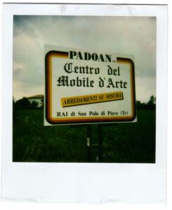 Dema Pubblicità-Bozzetto Padoan Centro del Mobile d'Arte
