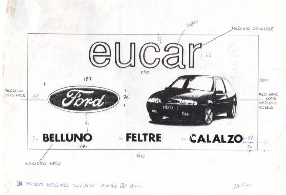Dema Pubblicità-Bozzetto Eucar Ford 3