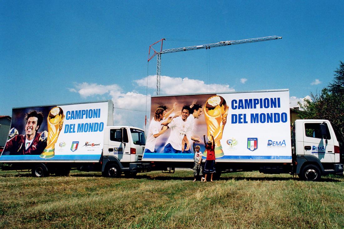 Dema Pubblicità-Vele Italia Campione del Mondo