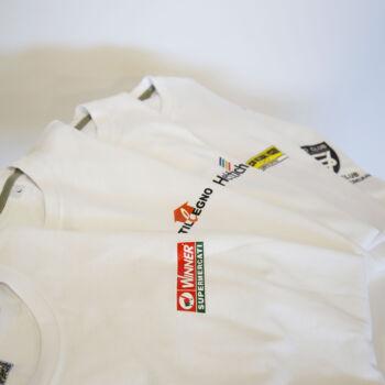 Dema Pubblicità-T-shirt bianche